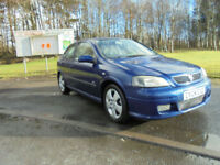 Vauxhall/Opel Astra 2.2i 16v 2004MY SRi ONLY 2 OWNERS 10 SERVICE STAMPS