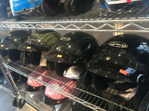 GREAT GMAX OPEN FACE HELMETS FOR RIDING AROUND ON THE TRAILS!