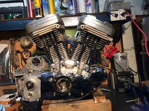 Harley-Davidson Sportster XLH883/1200 moteur