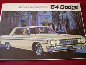 1964 Dodge sales brochure MOPAR