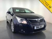 2011 TOYOTA AVENSIS T SPIRIT D-CAT DIESEL AUTOMATIC HEATED SEATS SERVICE HISTORY