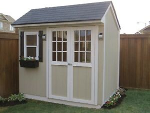 IN THE BACK YARD SHEDS! ALL PRICES INCLUDE INSTALLATION