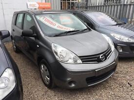 2012 Nissan Note 1.5dci 5 DOOR ( 90ps ) Visia,,, 52'000 MILES..FINANCE AVAILABLE
