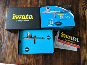 Warhammer Airbrush Package - Iwata HP-CS, Compressor, Booth