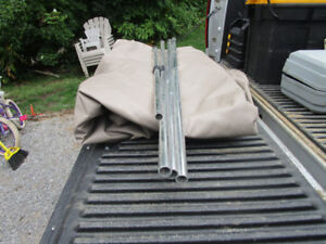 """18' PONTOON SNAP ON MOORING COVER """"NEW"""""""