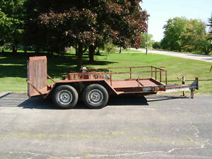 1996 Milano 12' Equipment Trailer