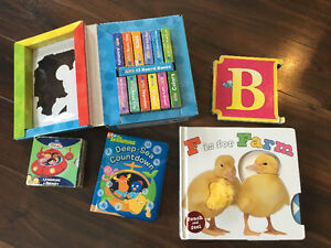 Collection of children's board books