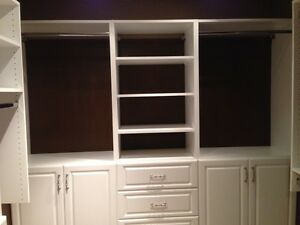 Organized custom built Closets in your Town!