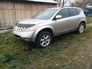Murano parting out: AWD with 225000