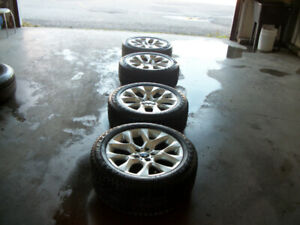 winter tires 255/55/19 PIRELLI