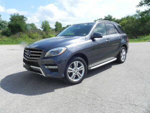 2014 Mercedes ML 350 Blue Tec Diesel 4 Matic