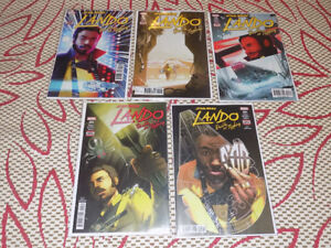 STAR WARS LANDO DOUBLE OR NOTHING #1 - 5, COMPLETE SET, MARVEL
