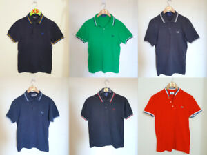 Mens Fred Perry Polos $40 EACH