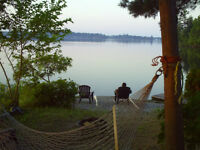 Clean and Bright Beaver Lake Cottage Rental from $800 & up