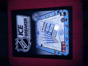 NHL Ice Breaker - the card hockey board game