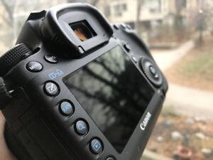 Canon 5D Mark III + Lens 24-70mm 2.8 USM V1