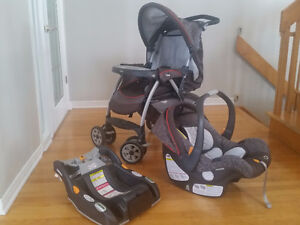 Chicco Cortina Travel System - Stix Stroller + Carseat
