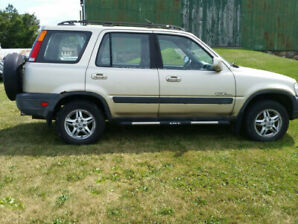 2001 Honda crv. Well maintained. 295000km. Selling as is.