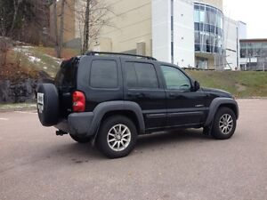 Jeep liberty trail rated édition