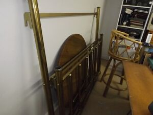 Brass Headboard and Footboard - single bed Peterborough Peterborough Area image 1