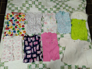 Box of 12 Month girl clothes