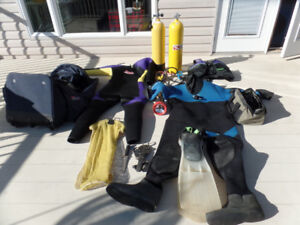 I have all the scuba gear you will ever need for sale!