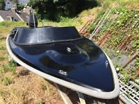 Global speedboat 16foot with 75hp outboard today sale