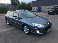 2005 PEUGEOT 407 SW 2.0L HDI ZENITH OVEMBER, FULL LEATHER £1200