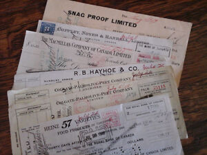 1948 cheques from Greb and Savage Shoe Companies Kitchener / Waterloo Kitchener Area image 3