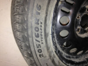 Winter rims and tires Prince George British Columbia image 3