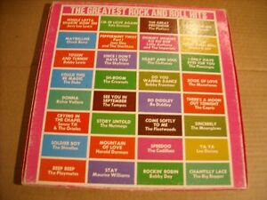 Ronco presents The Greatest Rock & Roll Hits 4 LP Box Set! Belleville Belleville Area image 3