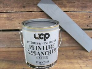 Peinture gris à plancher latex Grey floor paint 3.78L