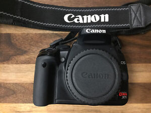 Canon Digital Rebel XTi Camera with 2 Lens Kit and Accessories