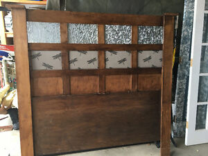 Queen size head board