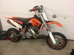 2014 KTM SX 50 Like new condition