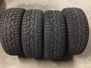 Toyo Observe G3 Ice Winter Tires - Like New