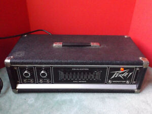 Peavey Series 260 C Monitor, Power Amp, Equalizer, Made in USA