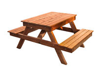 Looking for someone to quote on building 2 cedar picnic tables