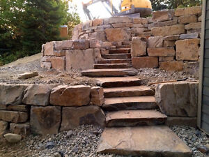 Natural Stone for Landscaping and Construction!