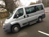 PEUGEOT BOXER 333 SWB 2.2 HDi 7 seater 3 wheelchair minibus