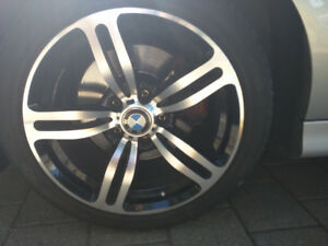 "BMW 17"" Rims only - M6 style 5x120, 225x45x17"