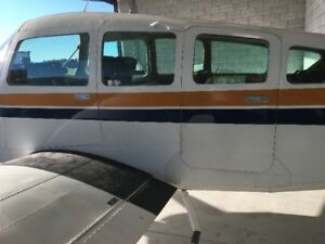 1/4 Share  of Beechcraft Sierra Six seats -Best in Cross country
