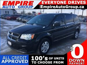 2012 DODGE GRAND CARAVAN AMERICAN VALUE PACKAGE * 1 OWNER * POWE