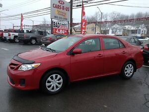 2011 Toyota Corolla CE- 2 year Unlimited km warranty included!
