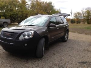 2008 GMC Acadia SLT1 SUV, Crossover  Do not let kms fool you