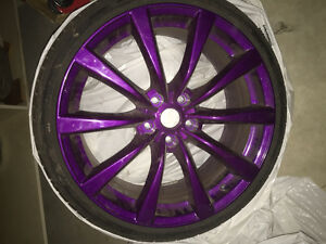 G37 rims with newer rubber