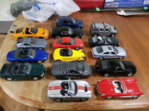 Scale 1:24 Diecast Cars