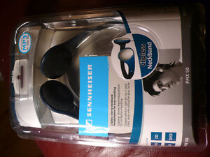 NEW - Sennheiser PMX50 Street Stereophones - Extreme Comfort-Fit