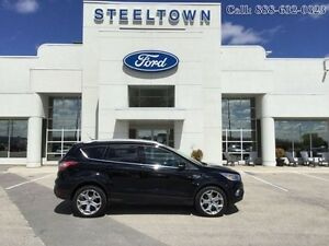 2017 Ford Escape TITANIUM AWD LEATHER/MOON  - $207.75 B/W