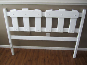 White double headboard for sale